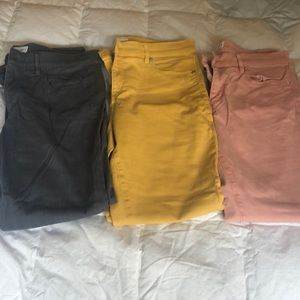 Bundle of 3 Loft Jeans and Pants Size 28